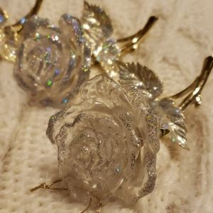 Other - Beautiful Rose Ornaments